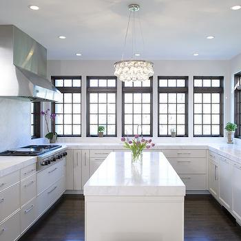 Ochre Arctic Pear Chandelier Contemporary Kitchen De
