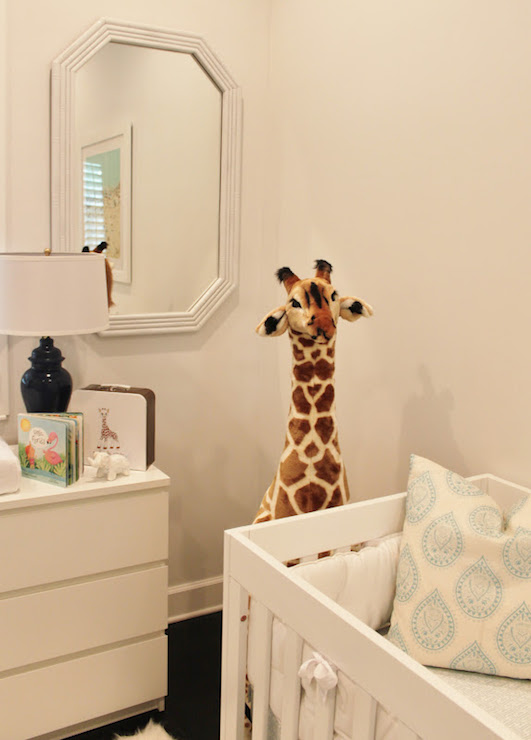 Ikea Changing Table Transitional Nursery Luxe Report