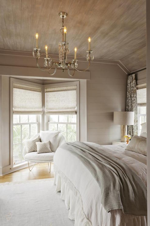 taupe bedroom. White and Taupe Bedrooms  Cottage Bedroom Charleston Magazine
