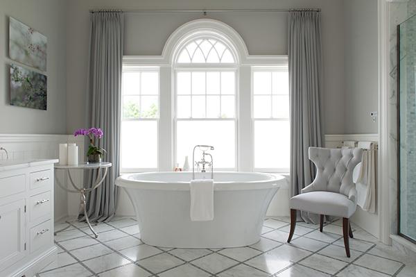 Gray Diamond Pattern Floor Design Ideas