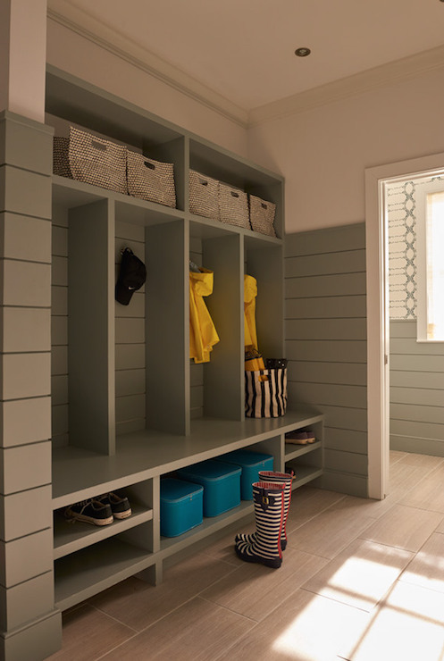 gray mudroom built ins contemporary laundry room weitzman rh decorpad com mud room shelving mudroom shelves and hooks
