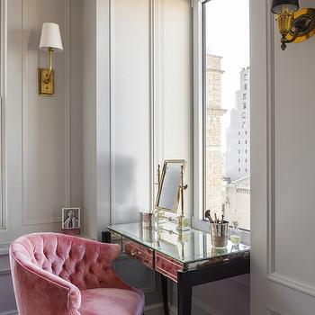 Exceptionnel Pink Vanity Chair