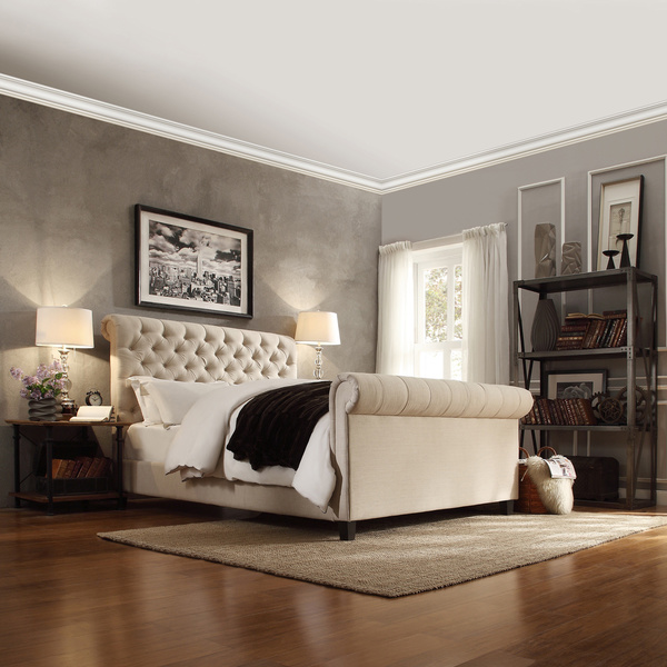 Restoration Hardware Chesterfield King Bed