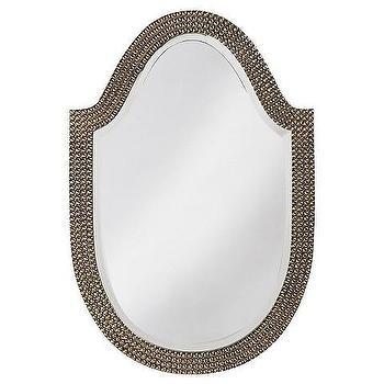 Lancelot Mirror, Brass