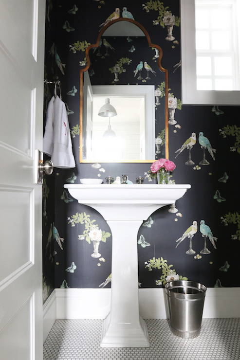 Powder Room Mirrors Design Ideas