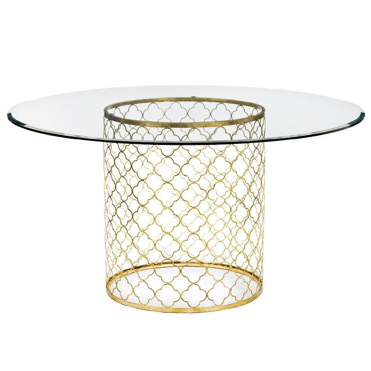 Blue Round Mosaic Dining Table