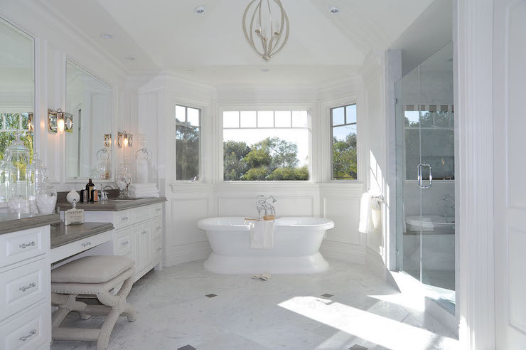 Bathroom Bay Windows Design Ideas