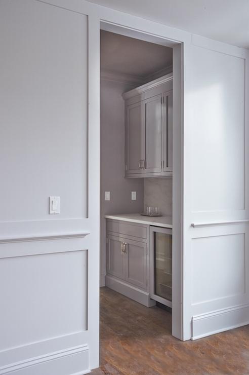 Butlers Pantry Mirror Backsplash Design Ideas