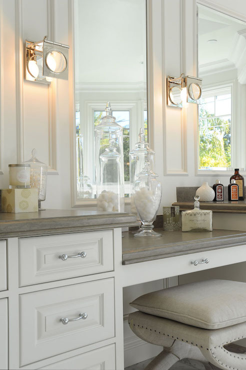 Bay Window Tub Transitional Bathroom