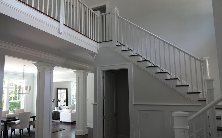 Hidden under the stairs powder room design ideas for Door under stairs
