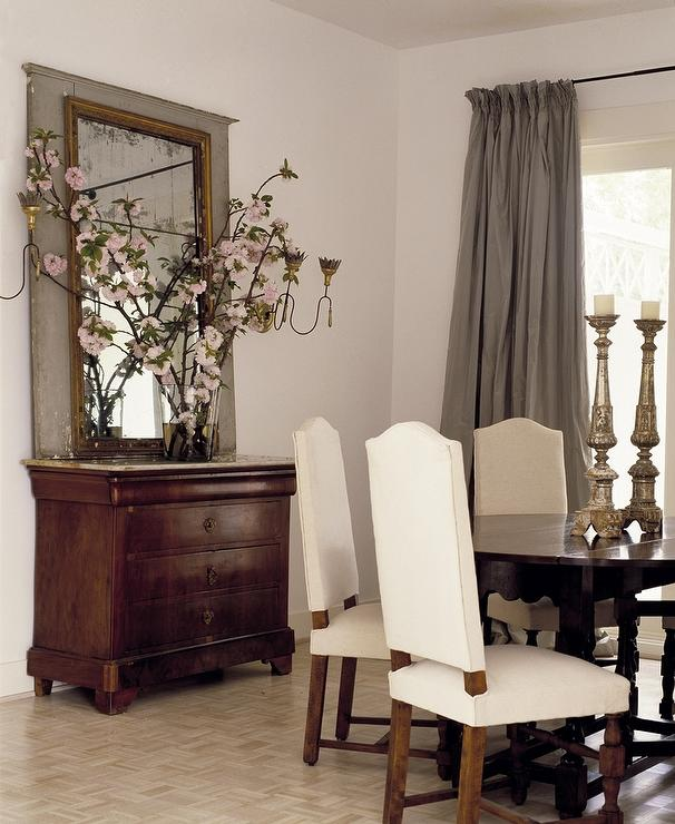 Dining Room Mirrors Antique french gilt dining room mirror design ideas