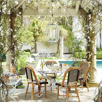Garden with Pergola, Traditional, Garden