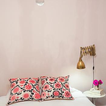 Pale Pink Bedrooms, Transitional, Bedroom
