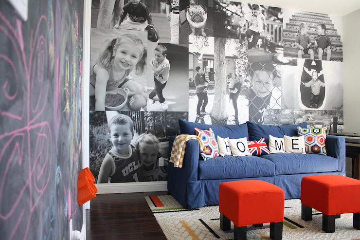 Amazing Playroom Photo Wall Contemporary Boys Room Gmtry Best Dining Table And Chair Ideas Images Gmtryco