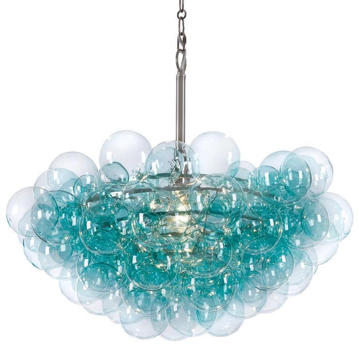 Regina andrew lighting bubbles aqua chandelier mozeypictures Gallery