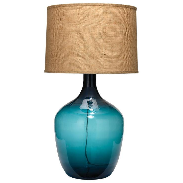 Jamie Young Plum Jar Navy Extra Large Table Lamp