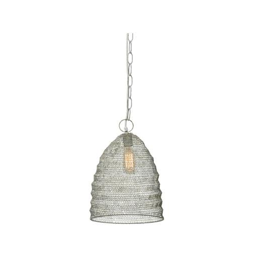 Jamie young company spring weave cream beehive mini pendant aloadofball Image collections