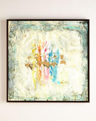John-Richard Collection Dancer Multicolored Giclee Art