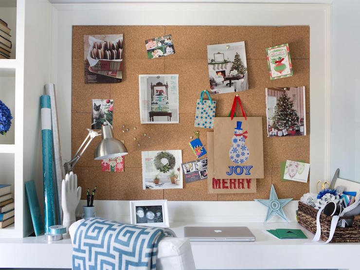 Cork Board Over Desk