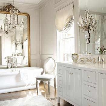 French Master Bathroom Design, French, Bathroom