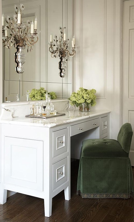 french bathroom cabinets with white marble countertops french