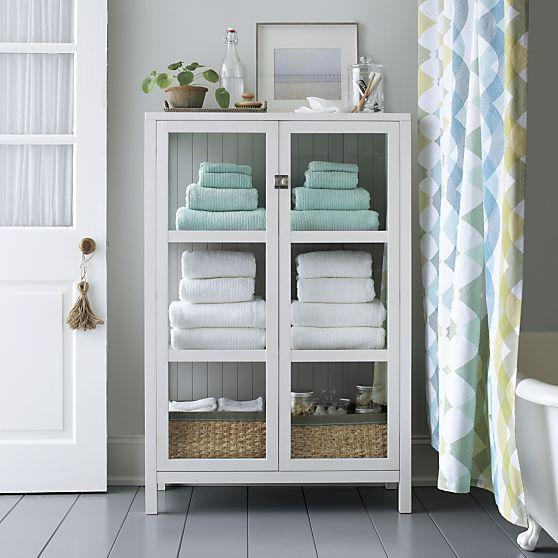 Large White Giselle Cabinet