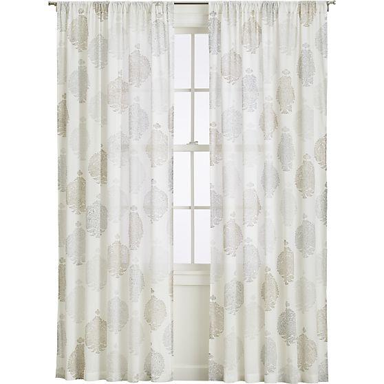 on curtain shop deal medallion farrah threshold curtains spectacular panel khaki