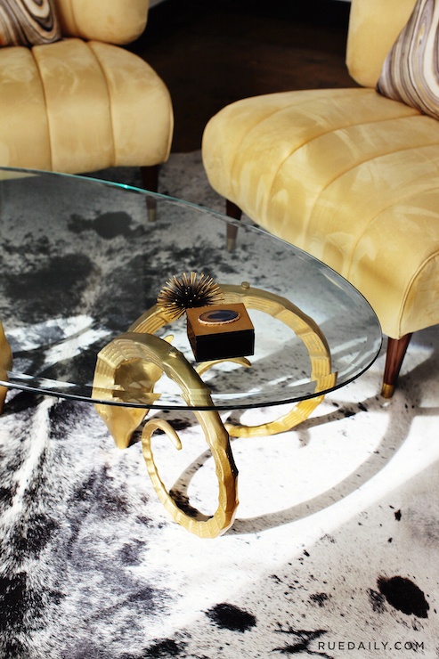 vintage coffee table design ideas