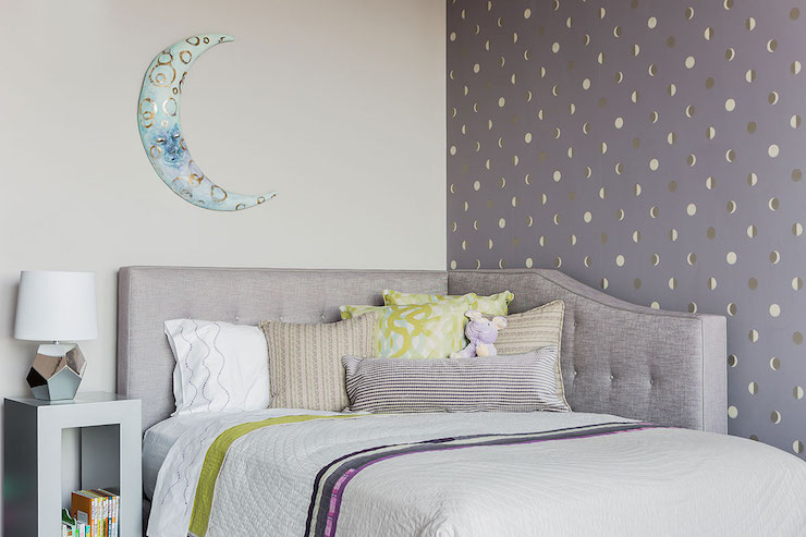 Kids Bedroom Headboard kids room with corner headboard - contemporary - girl's room