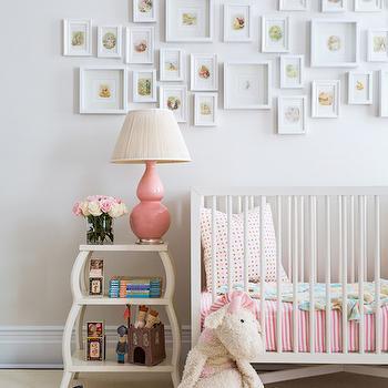 Shelf Over Crib Eclectic Nursery Adore Magazine