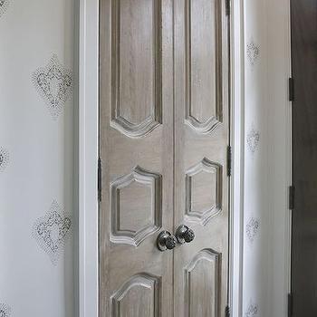 Foyer Closet with Bi Fold Doors, Transitional, Entrance/foyer