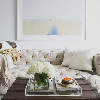 Soho Tufted Upholstered Sofa