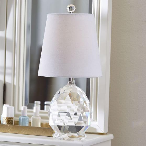Great Amelia Clear Crystal Table Lamp