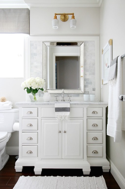 Double Abrams Sconce Transitional Bathroom Benjamin