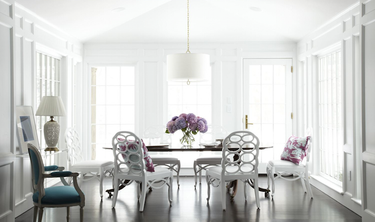 Absolutely Stunning Dining Room Features A Jonathan Adler