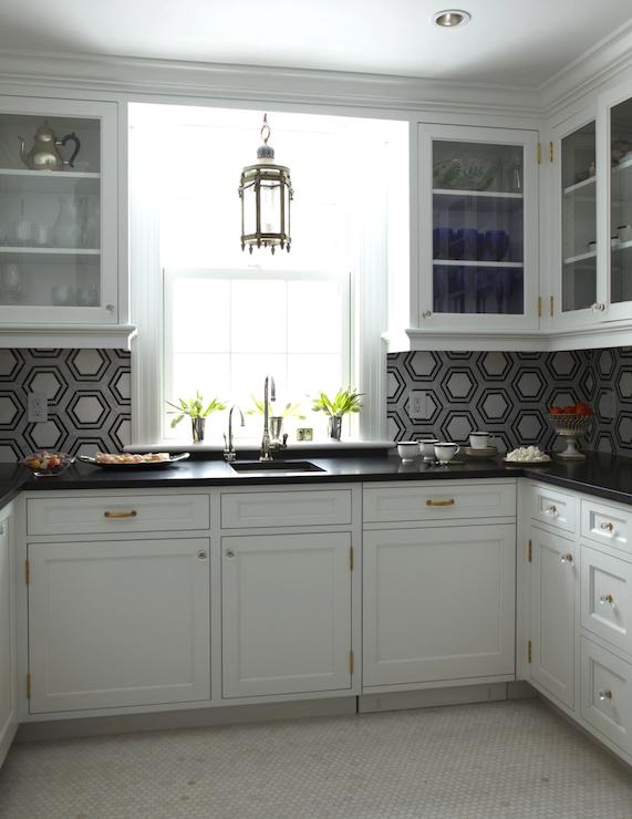 U Shaped Butlers Pantry Design Ideas