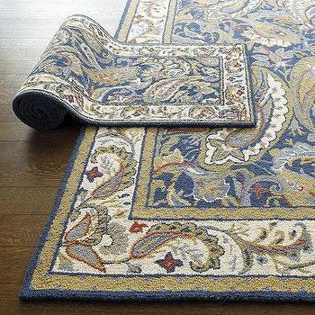 Abby Hand Hooked Rug, Ballard Designs