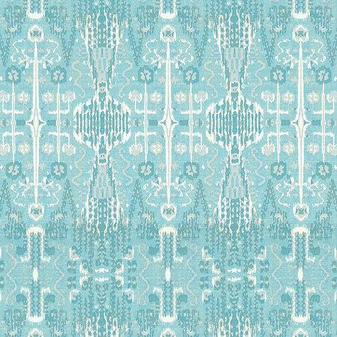Florentina Ikat Gray Fabric By The Yard Ballard Designs