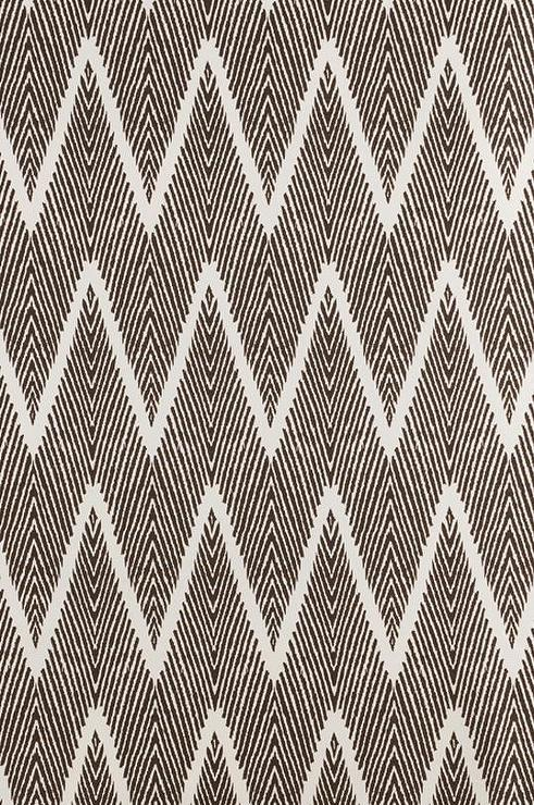 Cocoa Brown Printed Fabric
