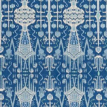 Bombay Cobalt Cotton, Printed Fabric