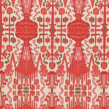 Bombay Geranium Cotton, Printed Fabric