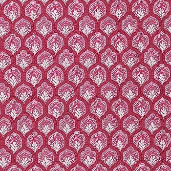 Isla Mulberry, Printed Fabric
