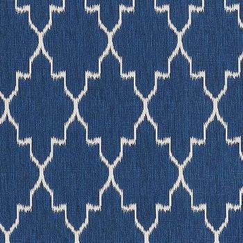 Monaco Cobalt Cotton, Printed Fabric