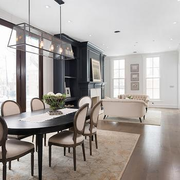 Restoration Hardware Modern Filament Chandelier View Full Size.  Transitional Dining Room ...
