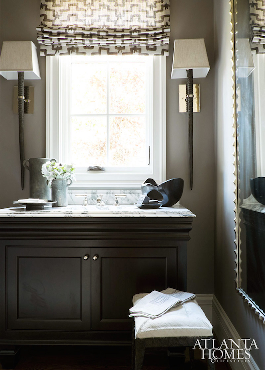 Dark Gray Vanity Design Ideas