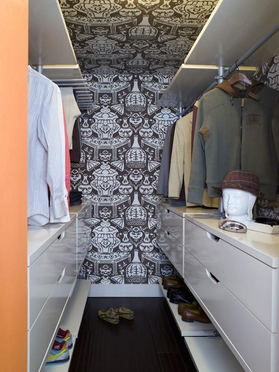 Ikea Closet System Contemporary Closet