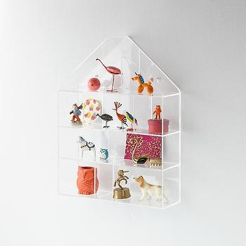 Invisible House Wall Shelf