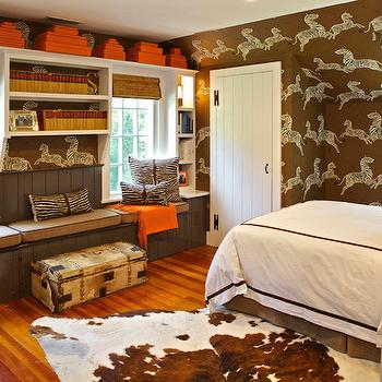 brown and orange bedroom contemporary boy 39 s room