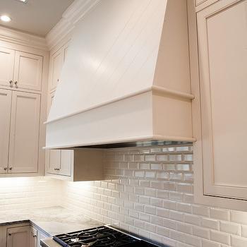Beveled Subway Tile Backsplash Herringbone Home Decor
