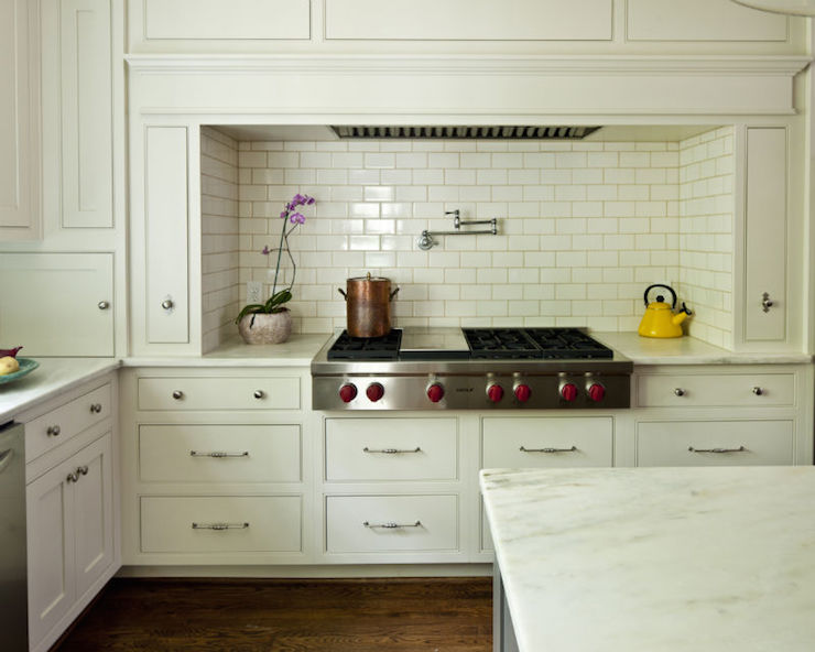 Stove Over Drawers Design Ideas